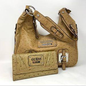 Guess Shoulder Bag and Wallet